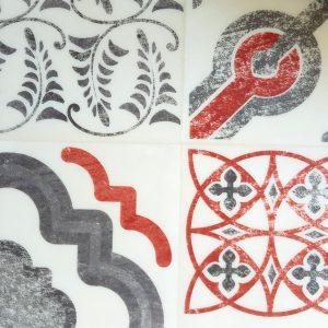 פי וי סי tarkett-decorations דגם 1